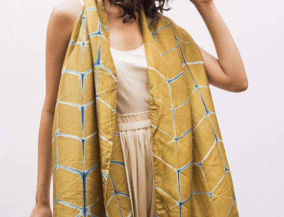 Itajime Silk Scarf   gaddur