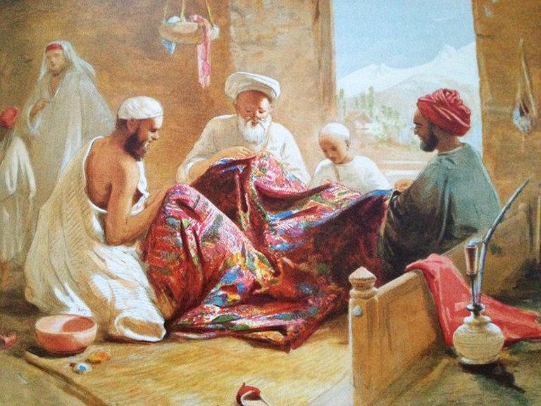 Pashmina trade