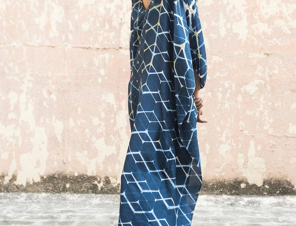 Itajime Silk Kaftan | hreyta