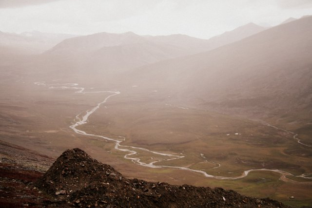 From the Babusar Pass: Kaghan Valley heading towards Azad Jammu Kashmir.