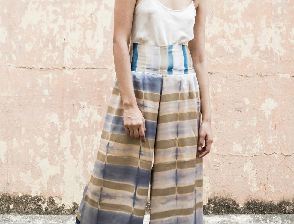 Itajime Silk Arielle Pants | urkoma