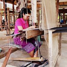 1. Mang and village weaving Lao textiles
