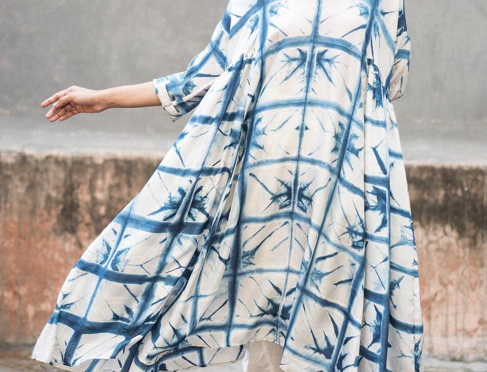 Itajime Silk Milos Dress   skafald