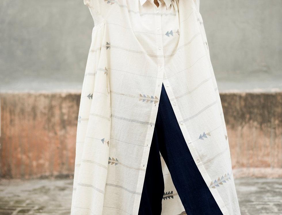 Artist Dress   jamdani kora & zari