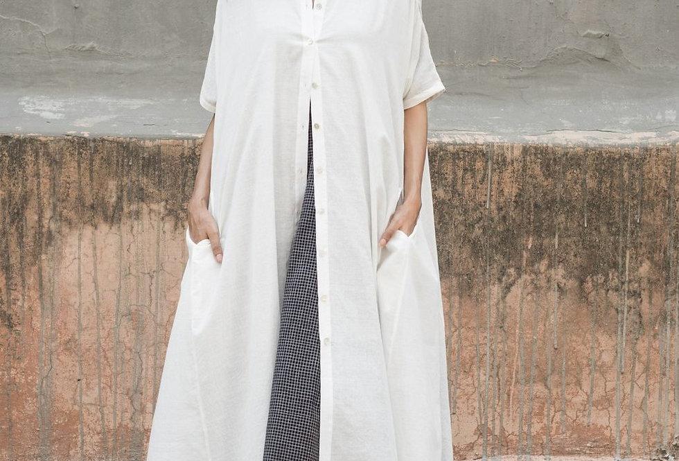 Artist Dress | white