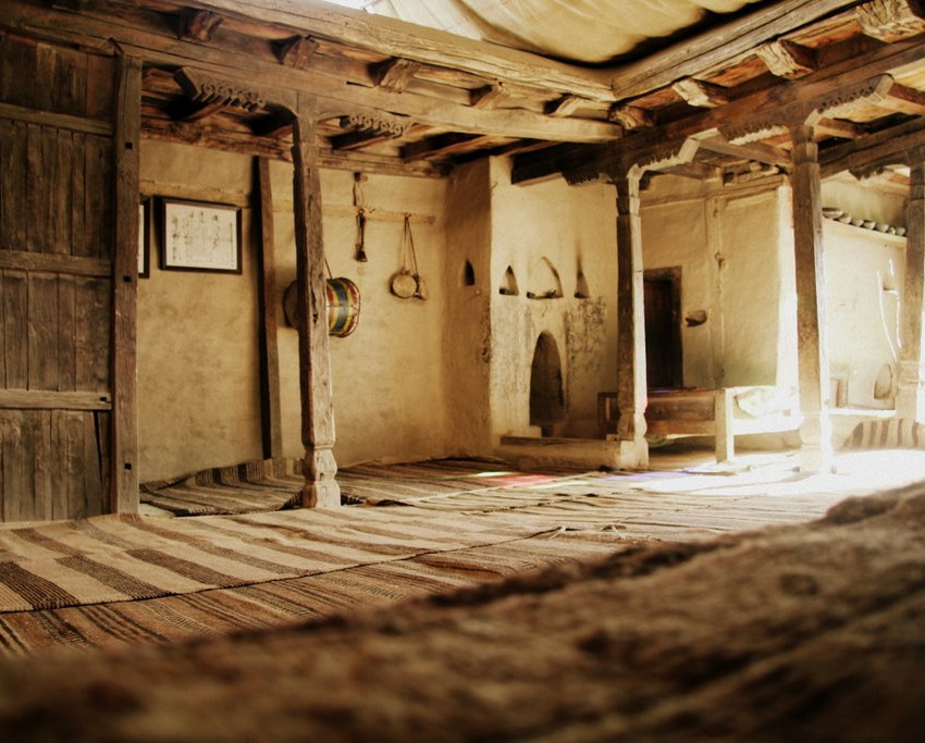 The main room of Baltit Fort.