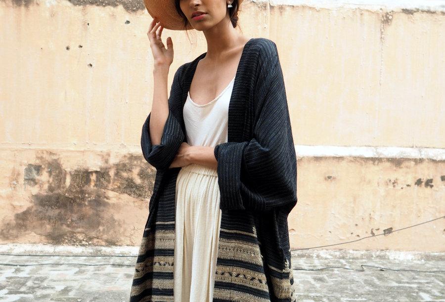 Vankar Lounger | wool & eri silk