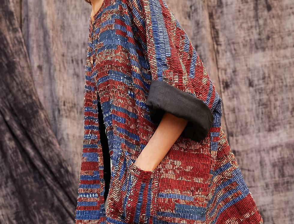 Haru Kimono | indigo & madder