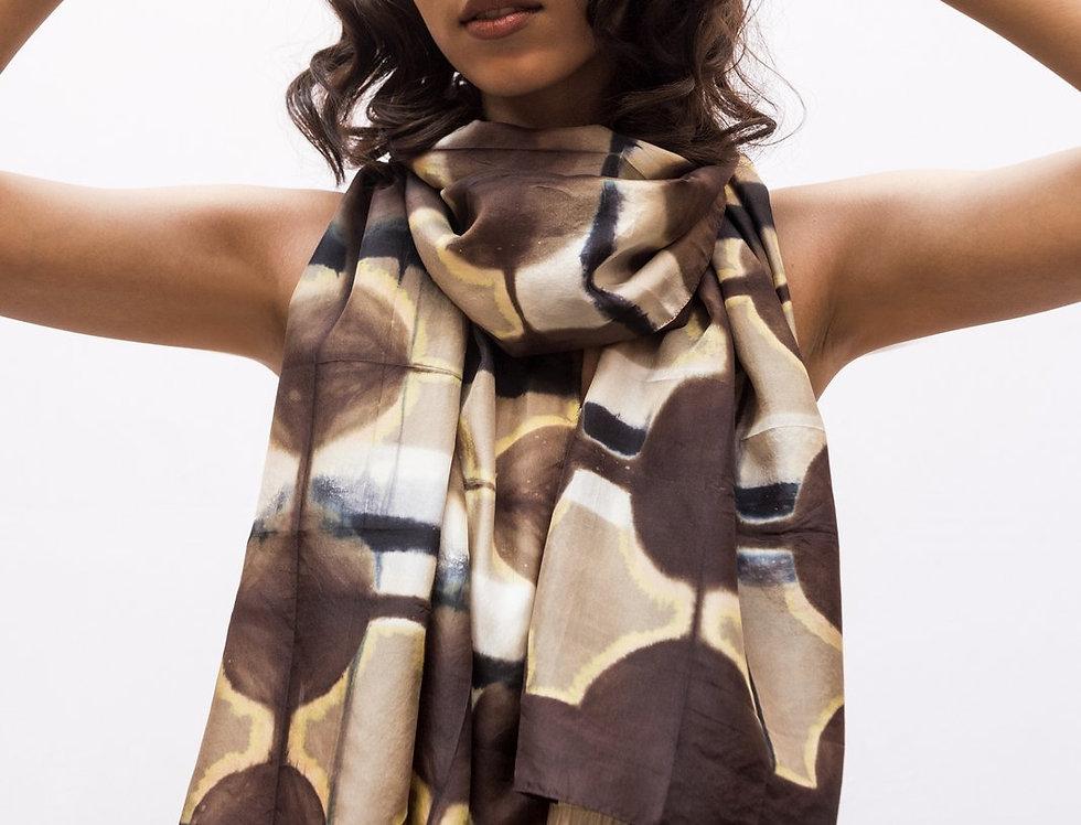 Itajime Silk Scarf | fonn