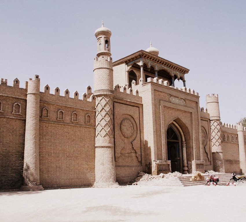 The mosque of Yarkand.