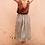Thumbnail: Dabu Linen Button-down Skirt