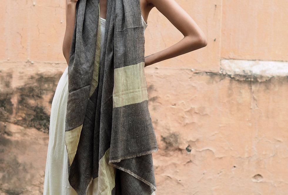 Pashmina Wrap | coal & gold