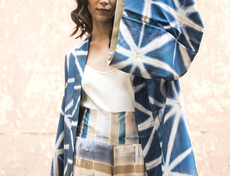Itajime Silk Kimono | mjoll