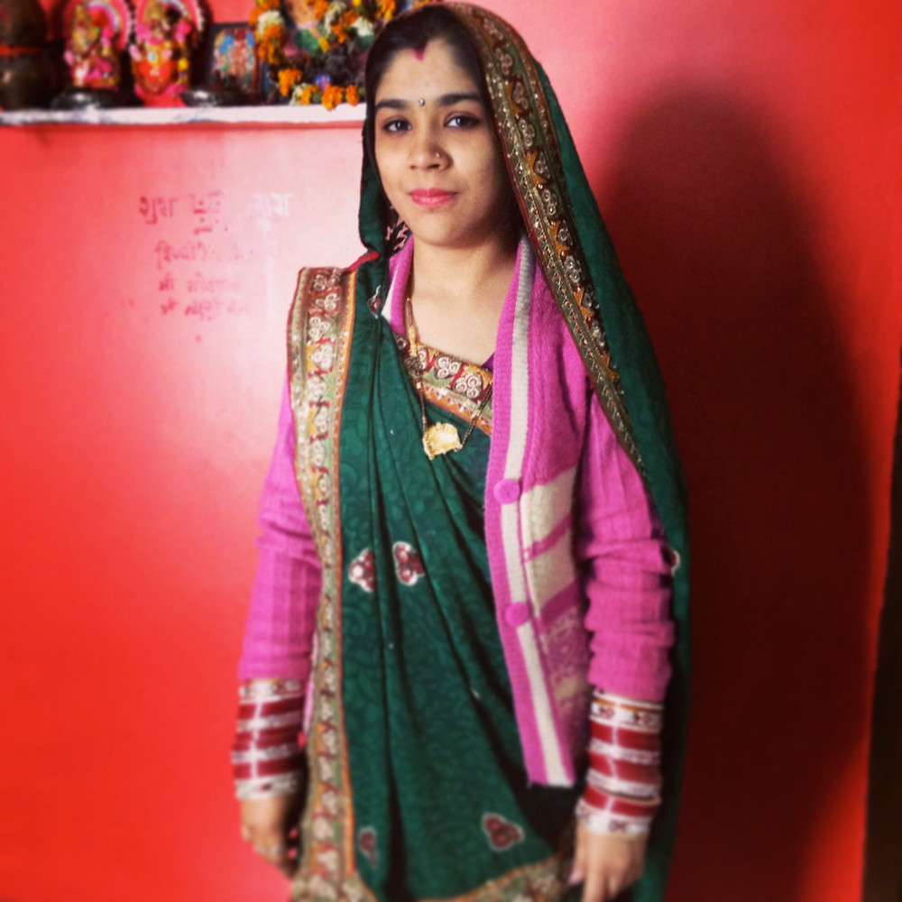 An Indian woman after marriage