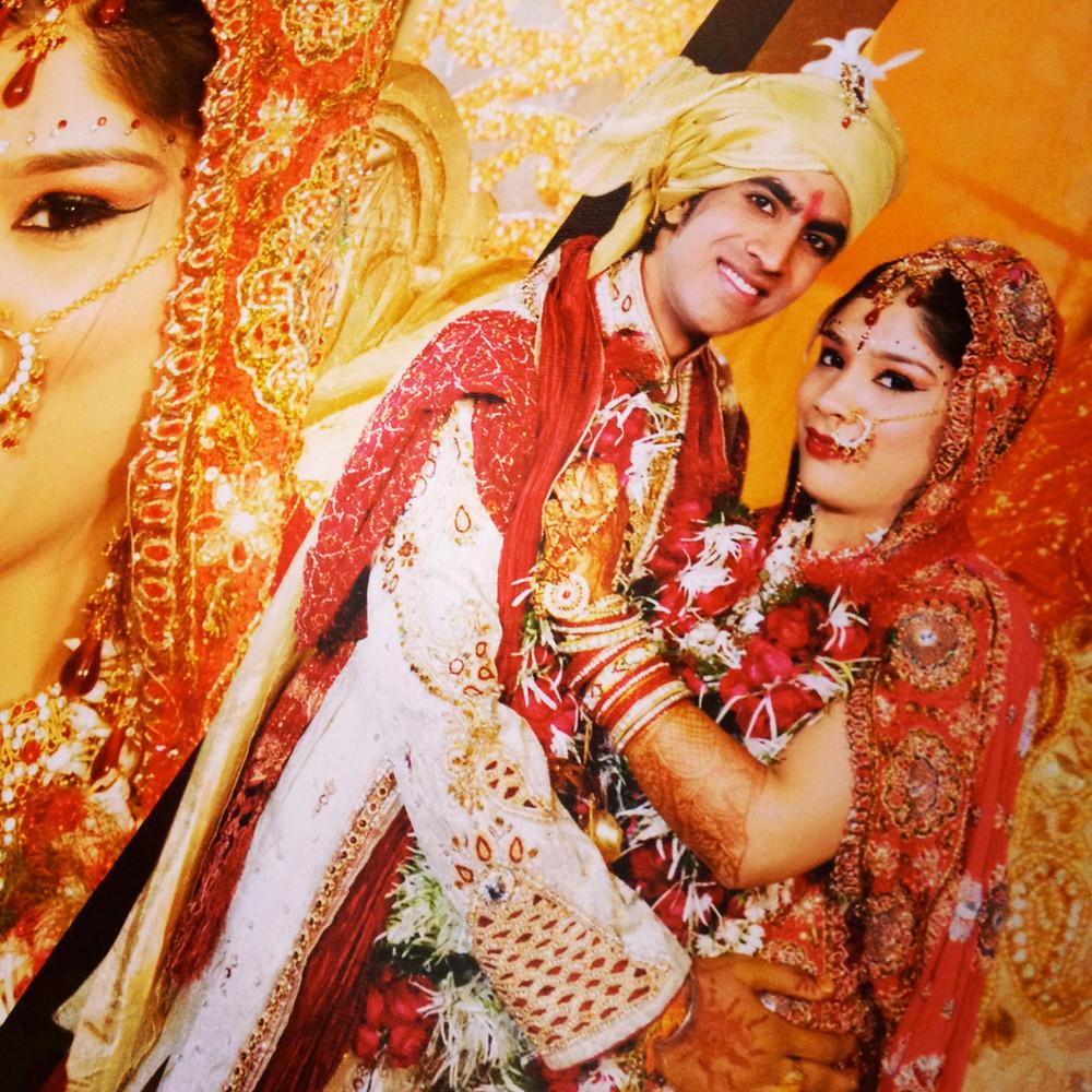 An Indian bride