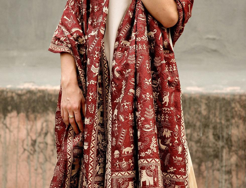 Nakshi Kantha Wrap | gaon I