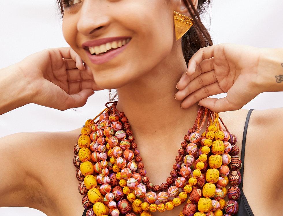 Iris Necklace | autumn bright