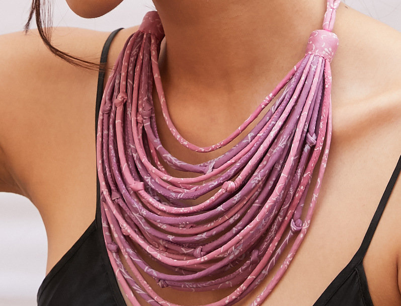 Sari String Necklace | sakura