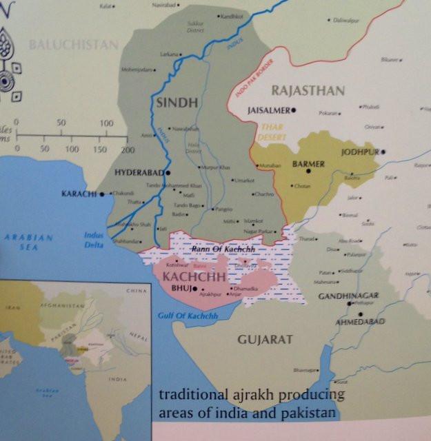 Ajrakh map