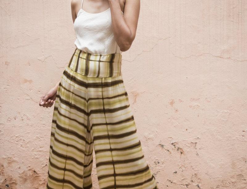 Itajime Silk Arielle Pants | papua