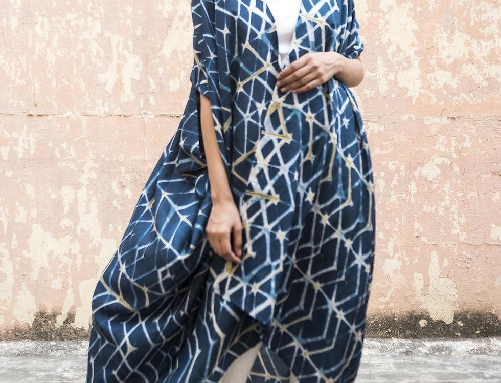 Itajime Silk Dune Robe | hyreta