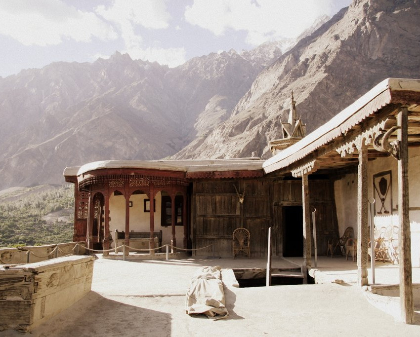The roof of Baltit Fort.