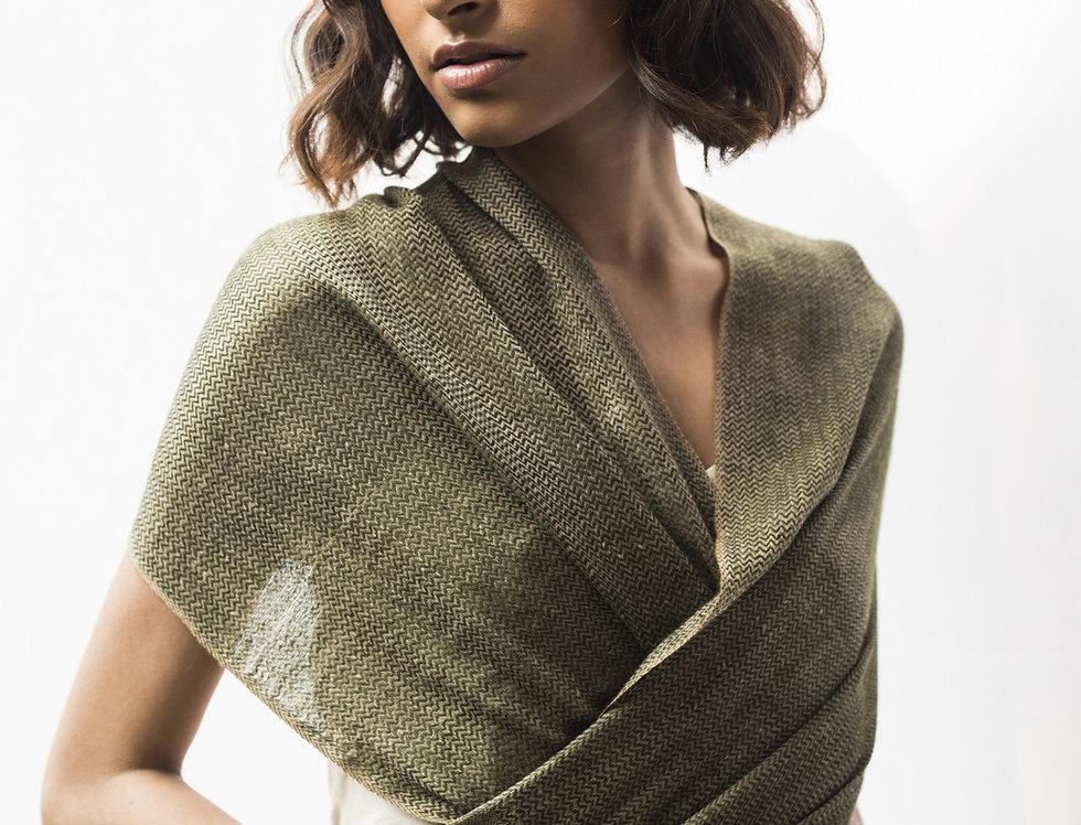 Pashmina Muffler | moss green