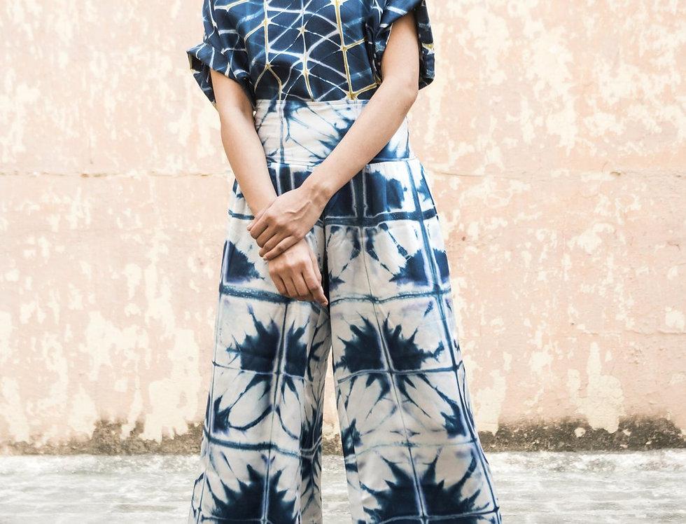 Itajime Silk Arielle Pants | skafald