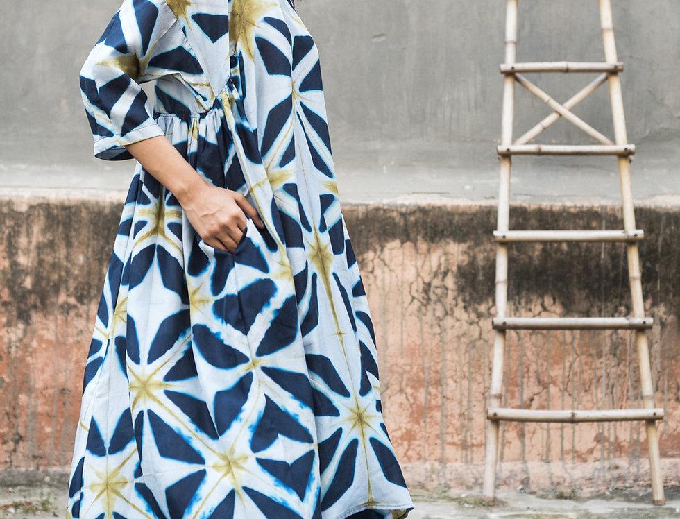 Itajime Silk Milos Dress   snjor
