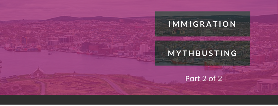 Blog Post: Immigration Myth Busting - Part Two