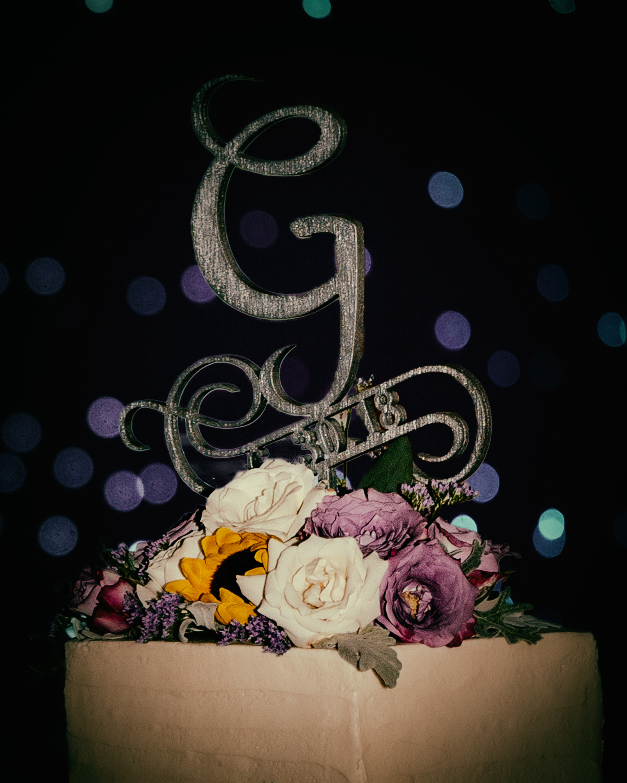 Elise and Daniel's Wedding Cake
