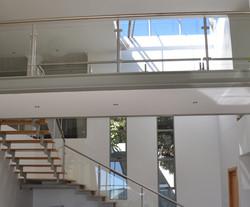 Stairs and bridge