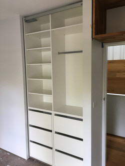 New Cupboard in the bed room