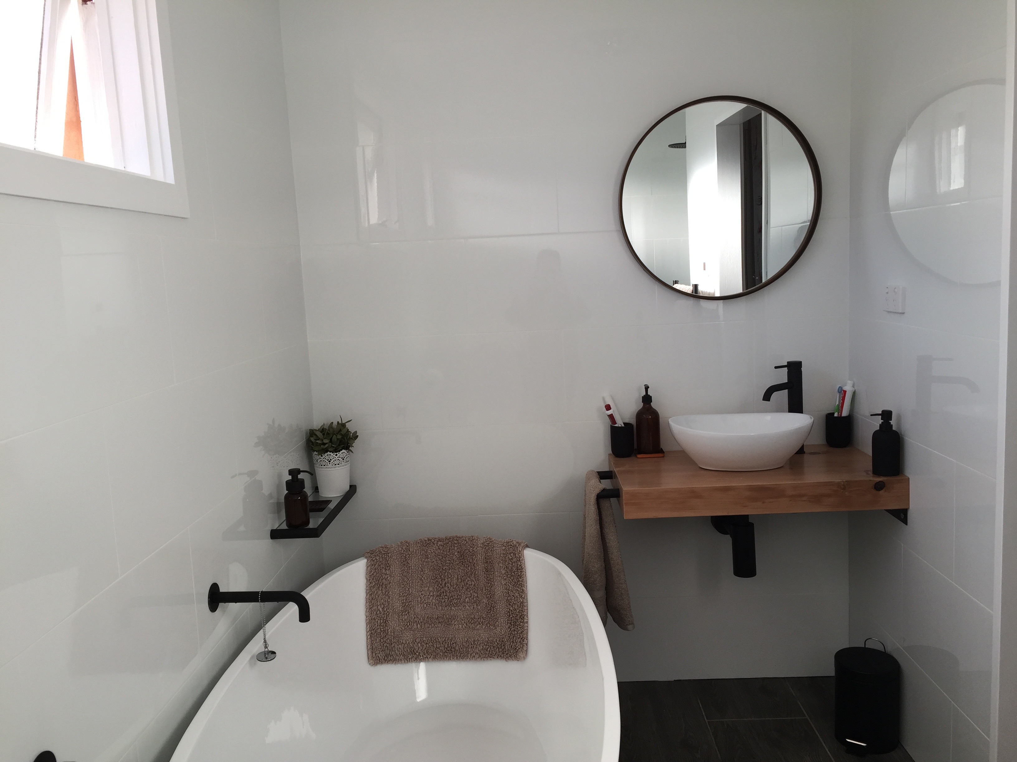Bilgola Plateau bathroom renovation