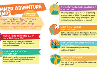 2018 Kid Time Summer Camps