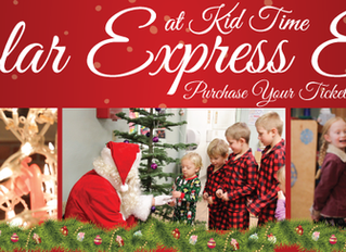 All Aboard the Kid Time Polar Express!