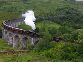 Filming Harry Potter in the Highlands