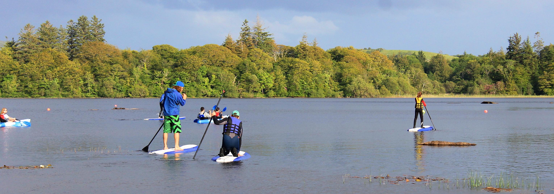 Family Sup & Kayak nites on Lough Es