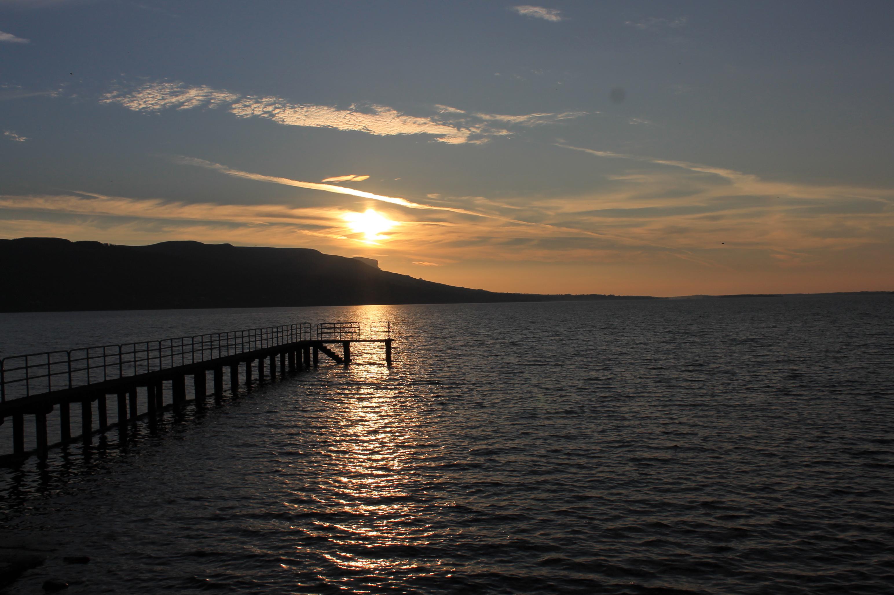Sunset in Garrison