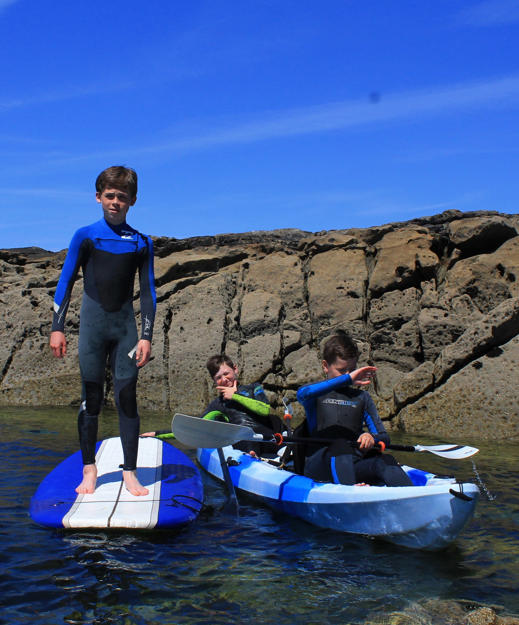 Creevy Pier Kids Sup and Kayak