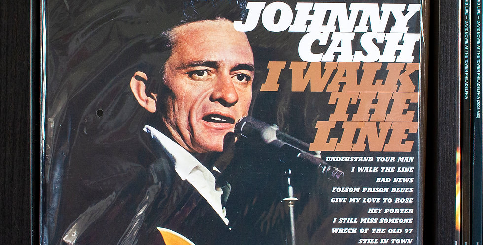 Johnny Cash ‎– I Walk The Line (2x LP)