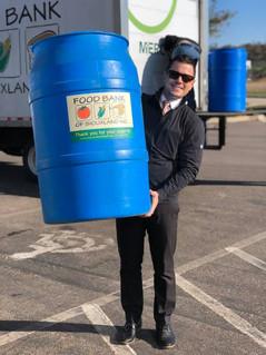 Food Drive Barrels