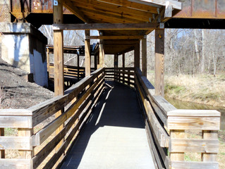 Riverwalk Connects Eno River Mill to Downtown Hillsborough