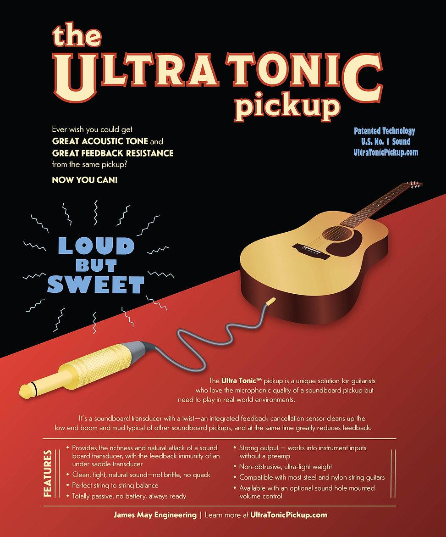 Ultra Tonic Pickup advertisement
