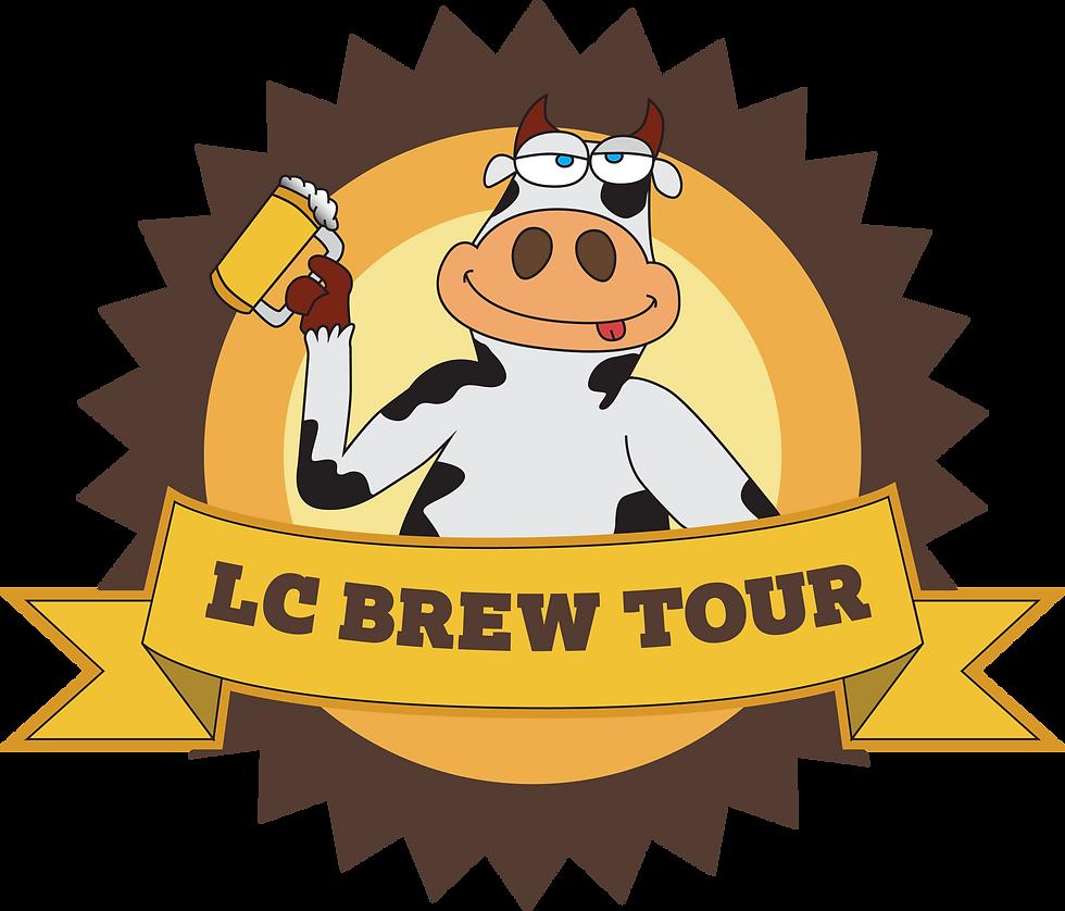 brew tour cow logo