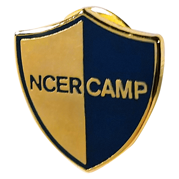 ncercamp lapel pin