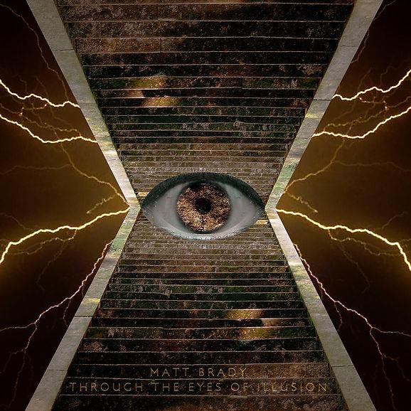 Matt Brady Through The Eyes o Illusion album cover