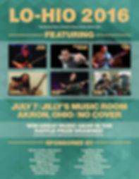 Lohio 2016 concert poster
