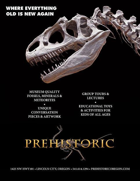 Prehistoric Museum Advertisement