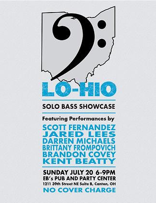 Lohio 2014 concert poster